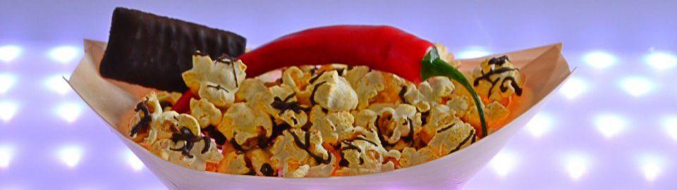 Gourmet Popcorn z.B. scharf